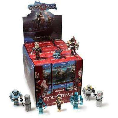 "God Of War 3"" Blind Box Mini Series By Kidrobot - Complete Case of 24"