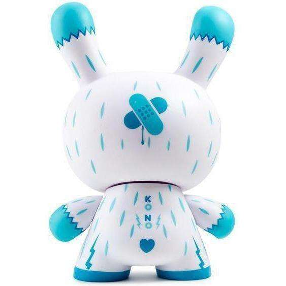 "Kono The Yeti 8"" Ice Blue Dunny Art Figure By Squink"