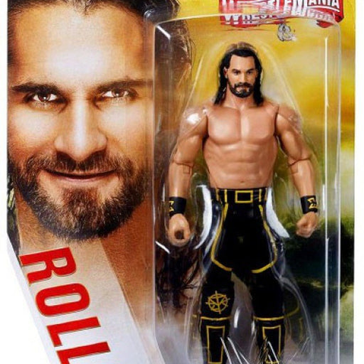WWE Wrestlemania Basic Action Figure Series - Seth Rollins (Wrestlemania 35)