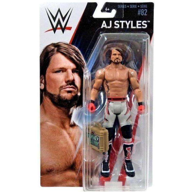 WWE Wrestling Series 82 Set of 5 Action Figures