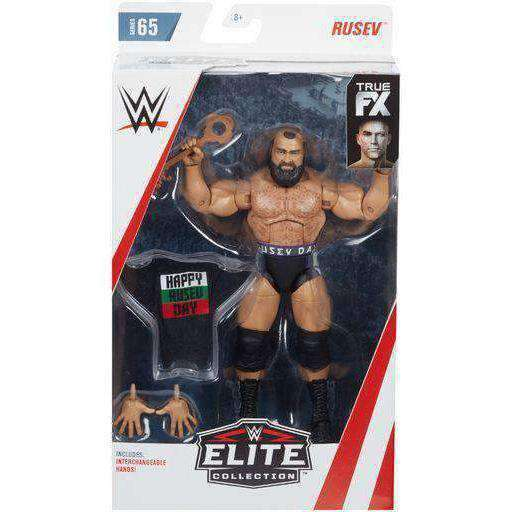 WWE Wrestling Elite Series 65 - Rusev Action Figure