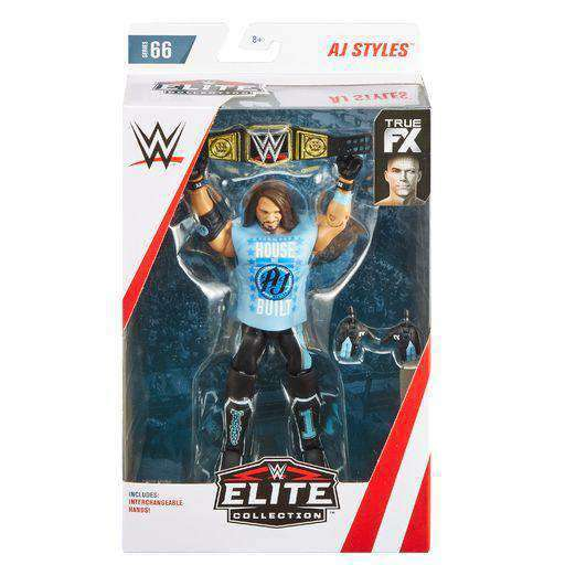 WWE Wrestling Elite Series 66 - AJ Styles Action Figure - MARCH 2019