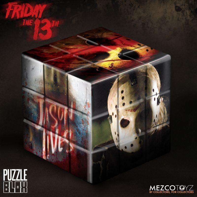 Jason Voorhees from Friday The 13th (2009) Puzzle Blox - NOVEMBER 2018