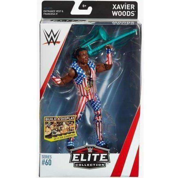 WWE Wrestling Elite Series 60 Xavier Woods Action Figure