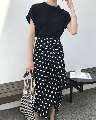 POLKA DOT SKIRT - 3 COLORS