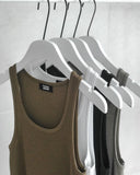 CLASSIC RIBBED KNIT TANK - 4 COLORS