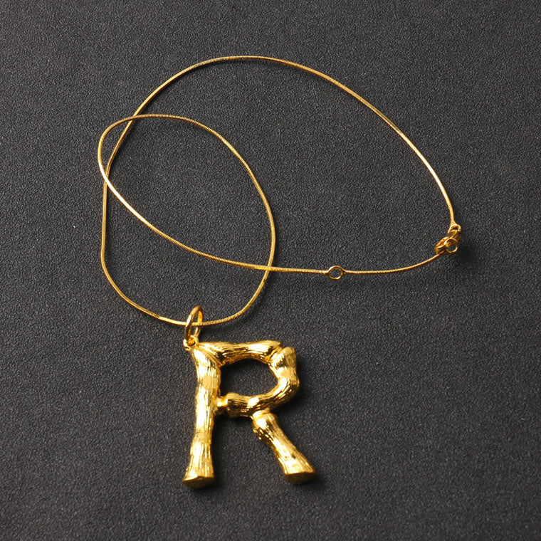 [LUMINOUX] ALPHABET NECKLACE