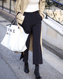 [SPECIAL PRICE] SIDE SLIT FLARED PANTS