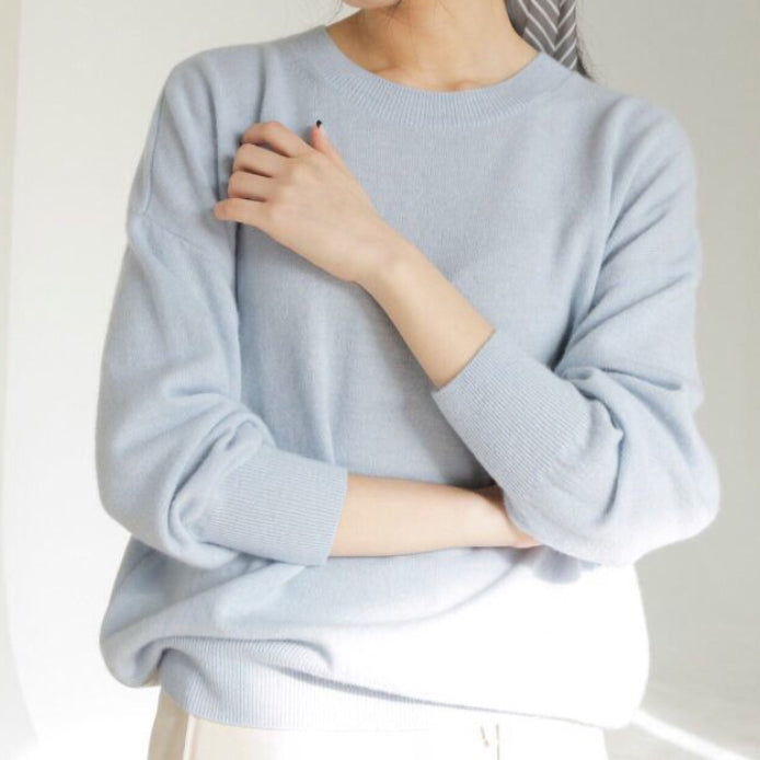 LUXE CASHMERE KNIT - 5 COLORS