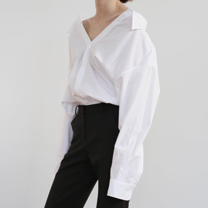 COTTON PINCH SHIRT - 2 COLORS
