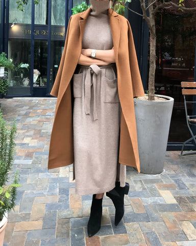 [EDITOR'S PICK] LUXE CAMEL COAT