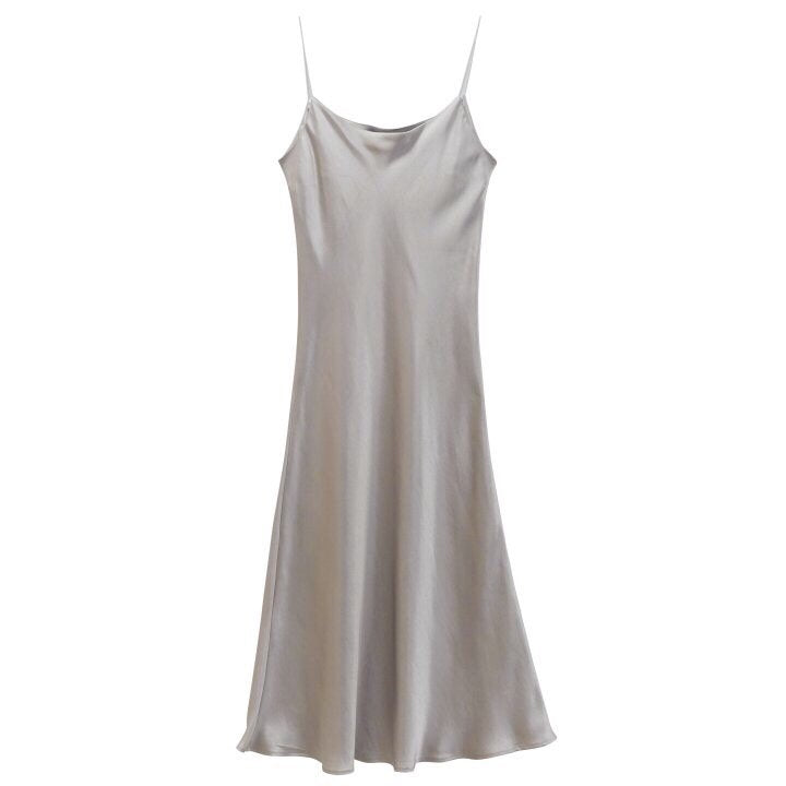 [SPECIAL PRICE] SILK SLIP DRESS