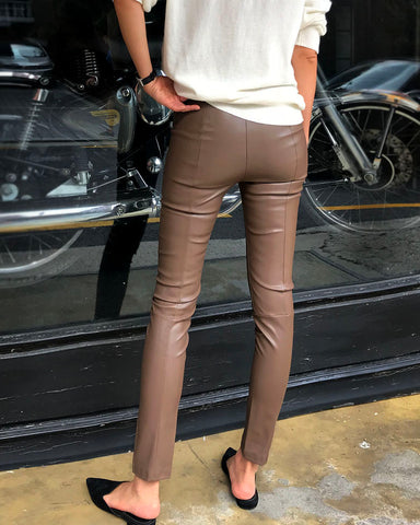 PHOTOSHOP LEATHER LEGGING PANTS