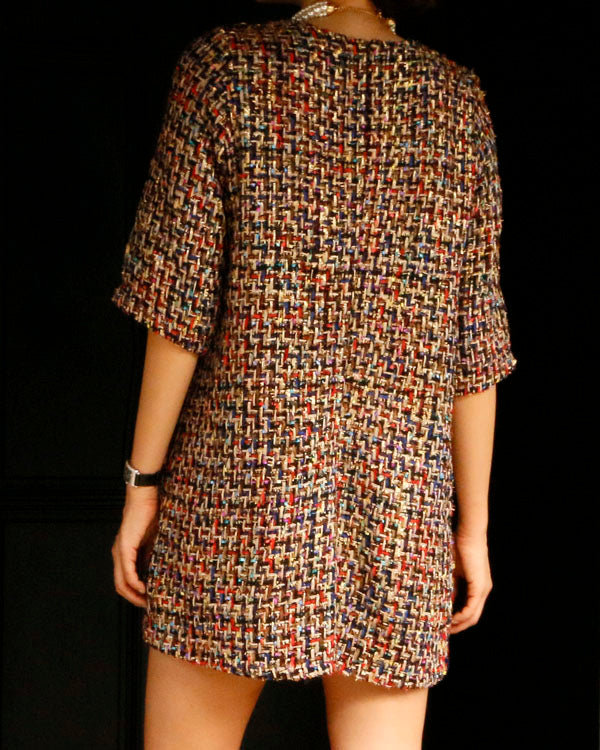 [EDITOR'S PICK] LUXE TWEED DRESS - 2 COLORS