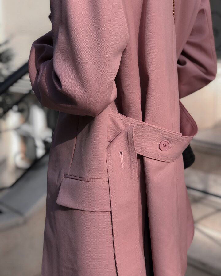 LUXE WOOL LONG TAYLOR JACKET