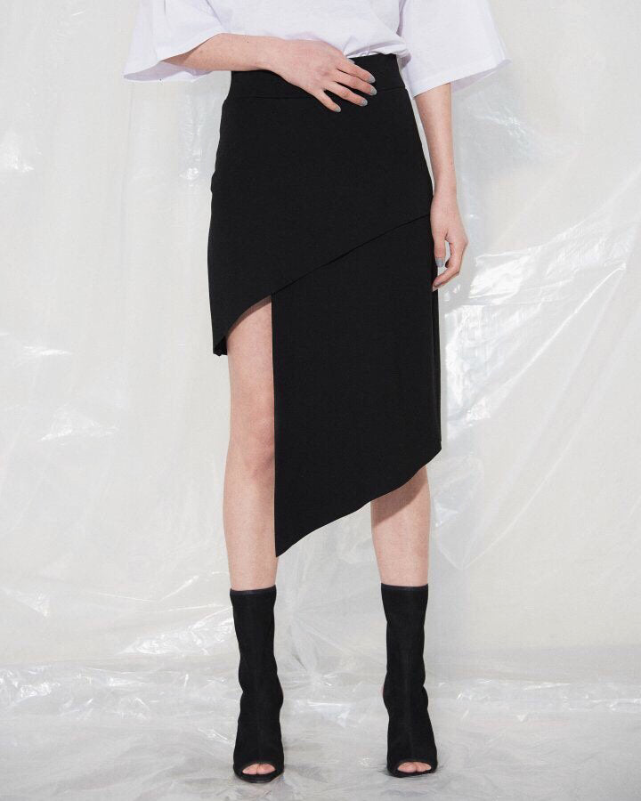 ASYMMETRIC SKIRT