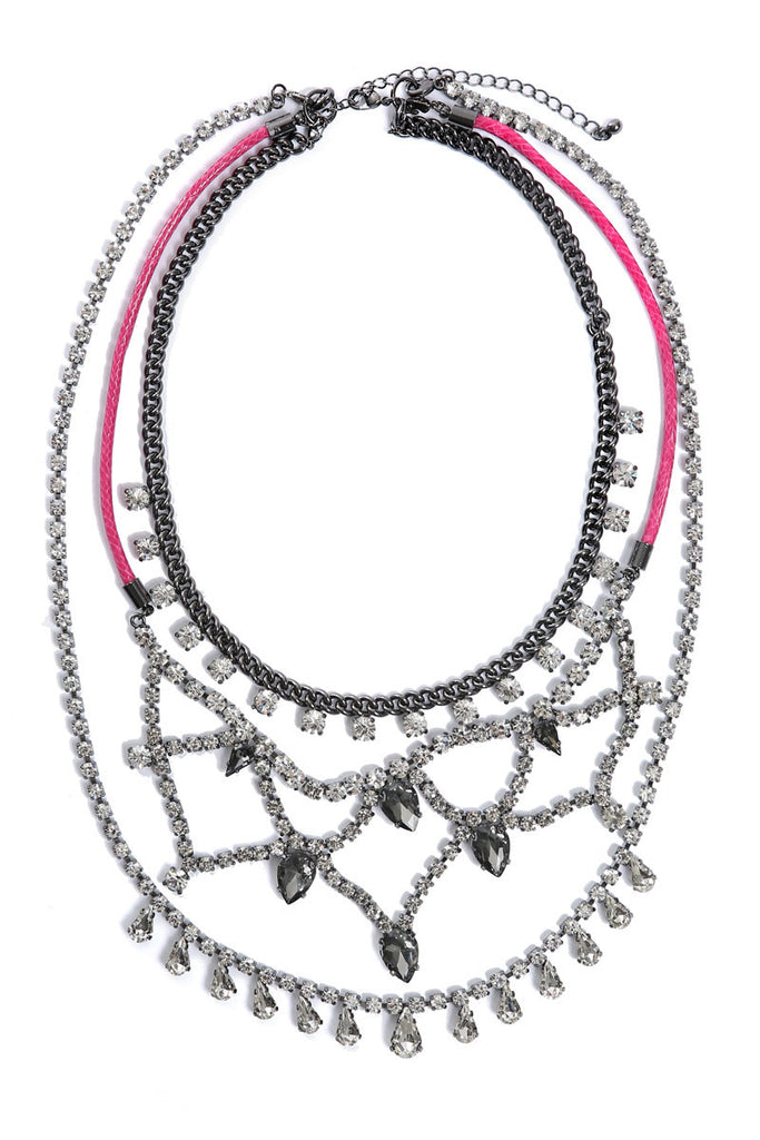 LAYERED CONVERTIBLE NECKLACE
