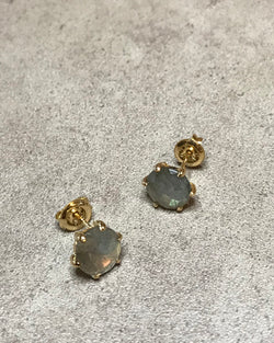 [LUMINOUX] LABRADORITE EARRINGS