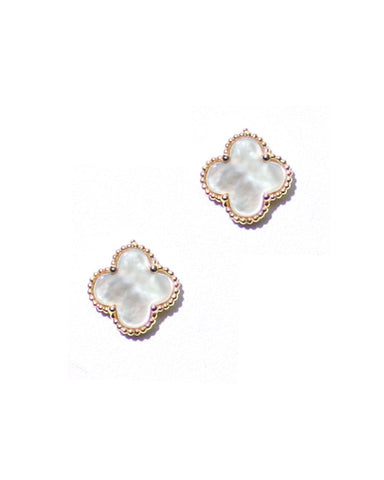 VC CLOVER STUD EARRINGS