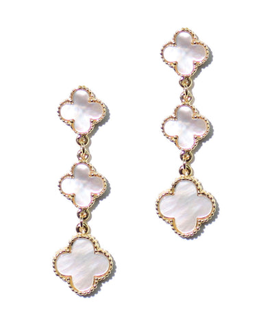 VC CLOVER DROP EARRINGS