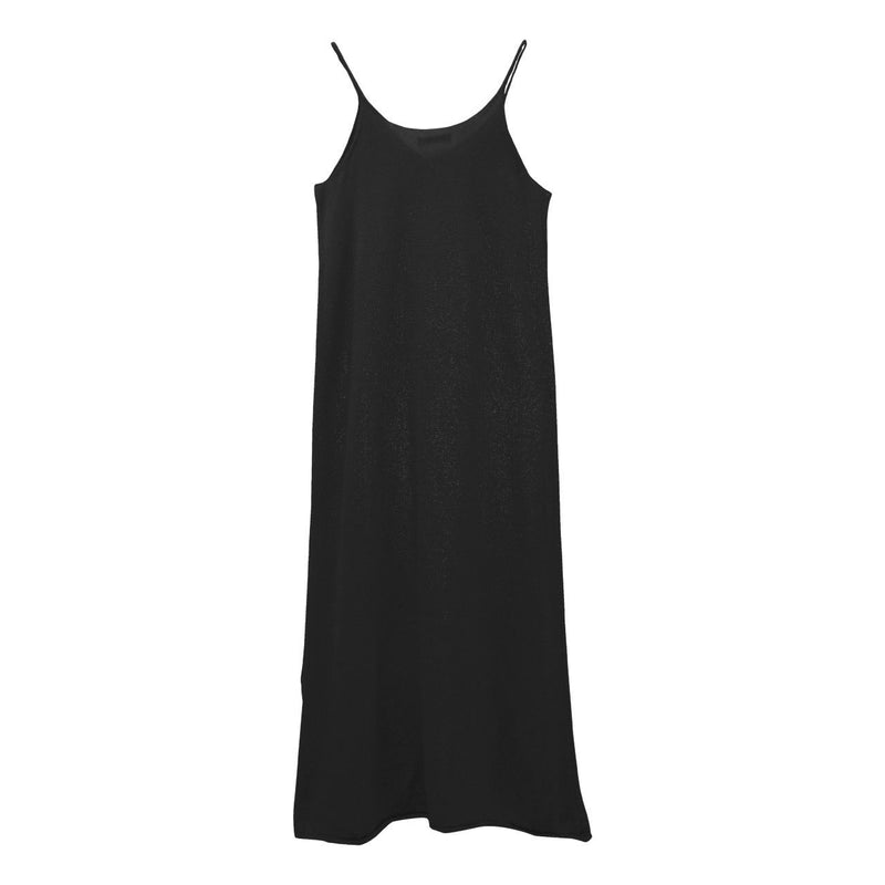 LINEN KNIT SLIP DRESS