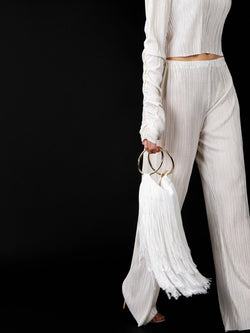 SILK FRINGE BAG