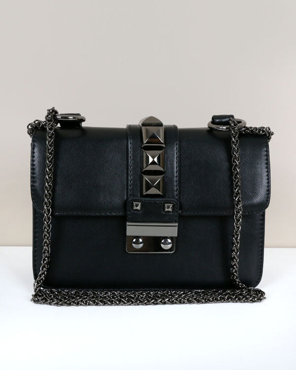 ROCK STUD CHAIN BAG