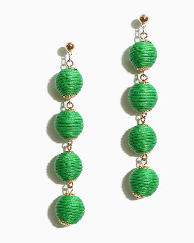 FOUR TIER DROP EARRINGS - 2 COLORS