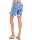 DISTRESSED ERIN SHORTS