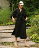 LUXE ROBE DRESS - 2 COLORS