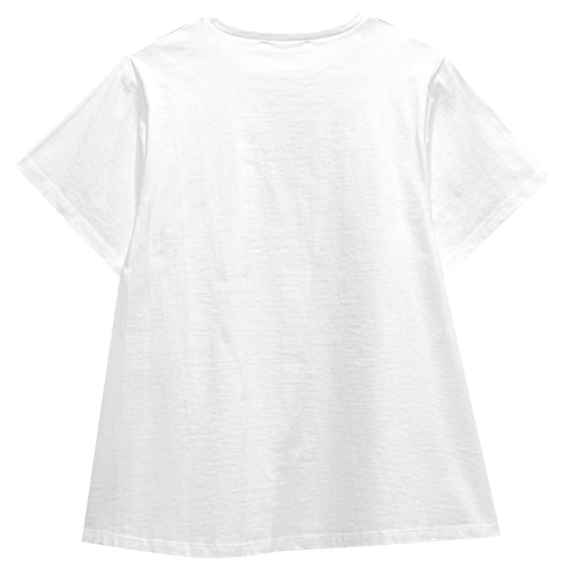 A-LINE FLARED COTTON T-SHIRT