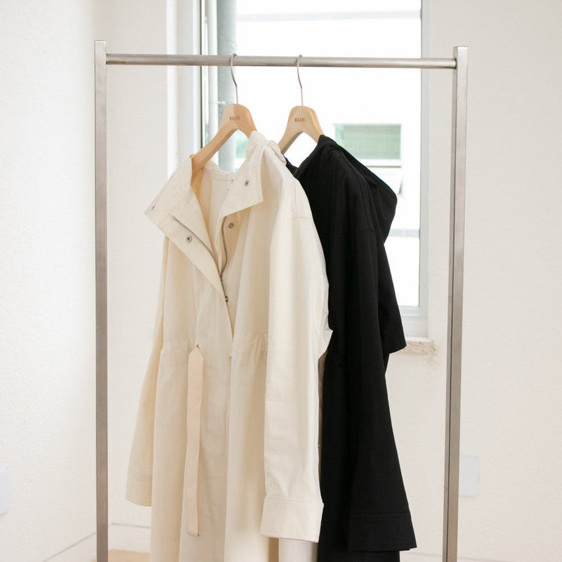 SAFARI HOODED TRENCH COAT