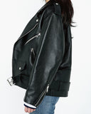 ULTIMATE LOOSE FIT LEATHER JACKET