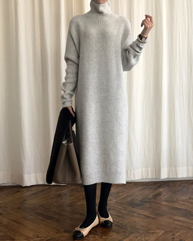 WHOLEGARMENT CASHMERE DRESS