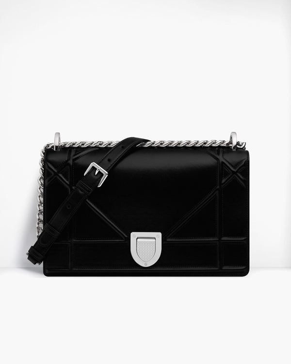 GEOMETRIC CHAIN SHOULDER BAG