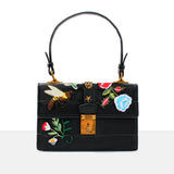 PATCHWORK CONTRAST BAG