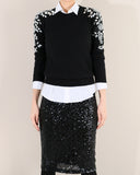 LUXE BEADED KNIT