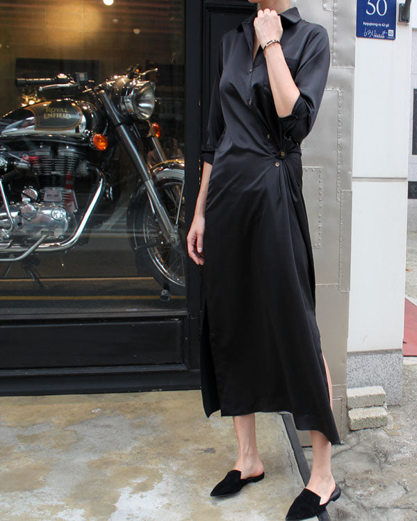 [EDITOR'S PICK] SATIN DRESS
