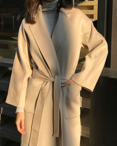 [EDITOR'S PICK] LUXE CASHMERE COAT