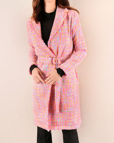 [EDITOR'S PICK] LONG TWEED COAT