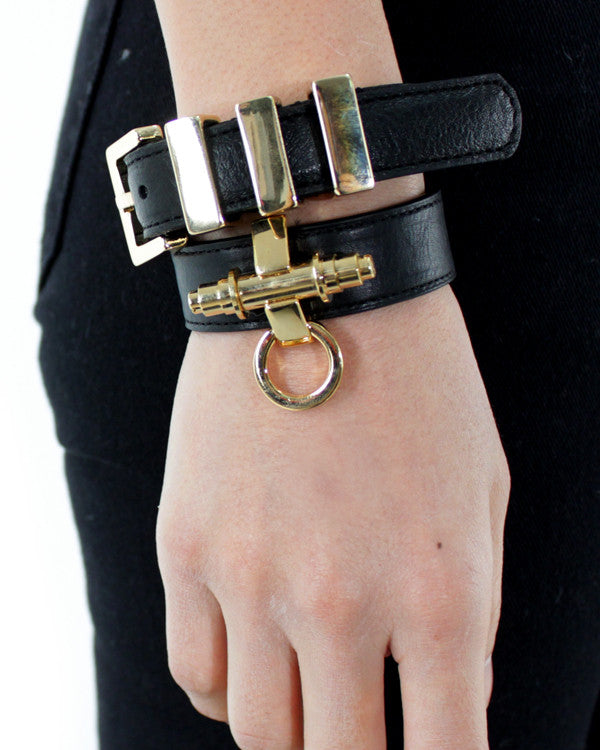 SAINT LEATHER BRACELET