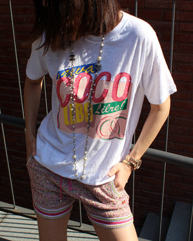 COCO KNIT TOP & SHORTS SET