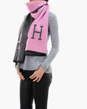 H WOOL SCARF - 3 COLORS