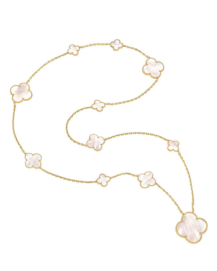 VC MOTHER OF PEARL NECKLACE