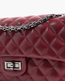 MEDIUM QUILTED CHAIN BAG - 2 COLORS