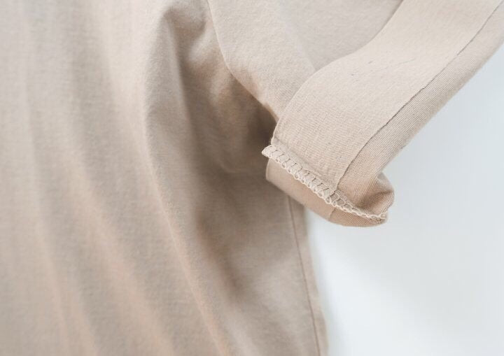 LUXE SILKET BASIC T-SHIRT