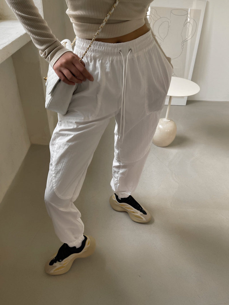 NYLON TECHNICAL JOGGER TROUSERS