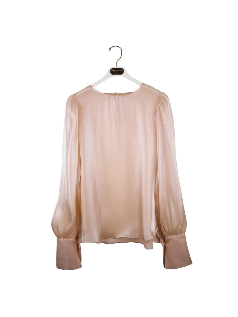 SHEER VOLUME BLOUSE