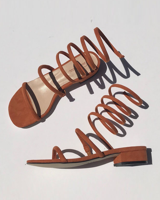 GLADIATOR SPRING SANDALS - 2 COLORS