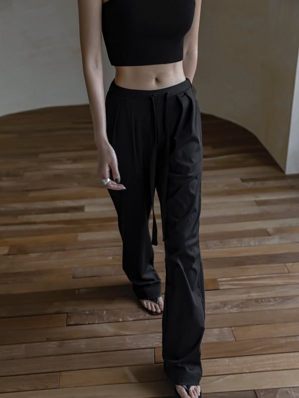 TWO PIN TUCK LOUNGE TROUSERS